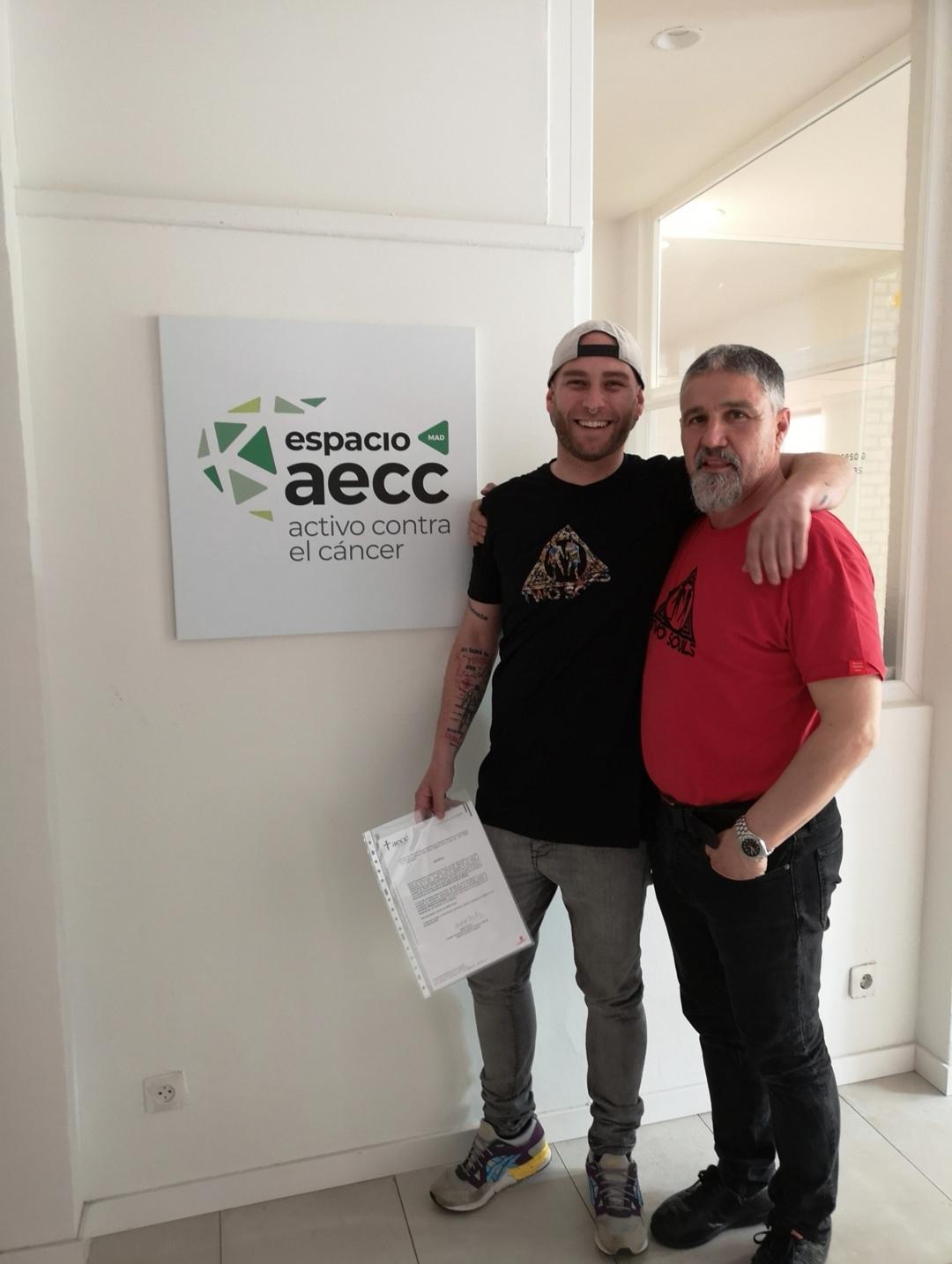 Donación aecc